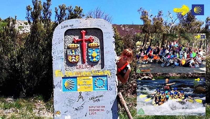 camino de santiago con niños, camino de santiago con hijos, camino de santiago monoparentales, escapada camino de santiago con hijos, escapada camino de santiago con niños